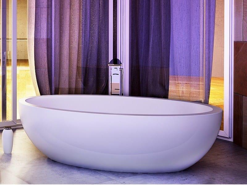 Oval bathtub EMERALD TUB by DIMASI BATHROOM