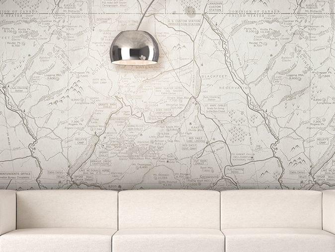 Washable vinyl wallpaper ESCAPE by GLAMORA