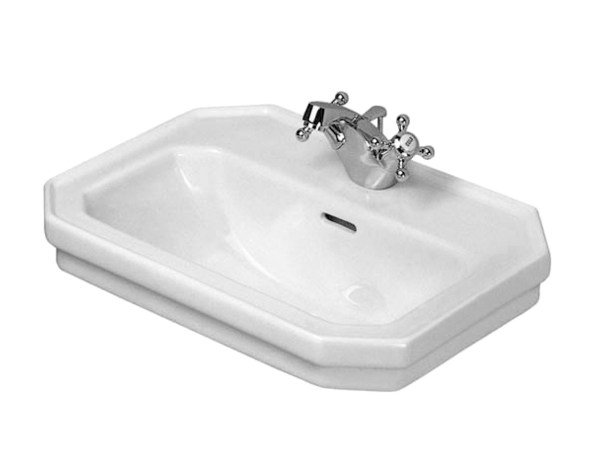 Wall-mounted ceramic handrinse basin with overflow 1930 | Wall-mounted handrinse basin by Duravit