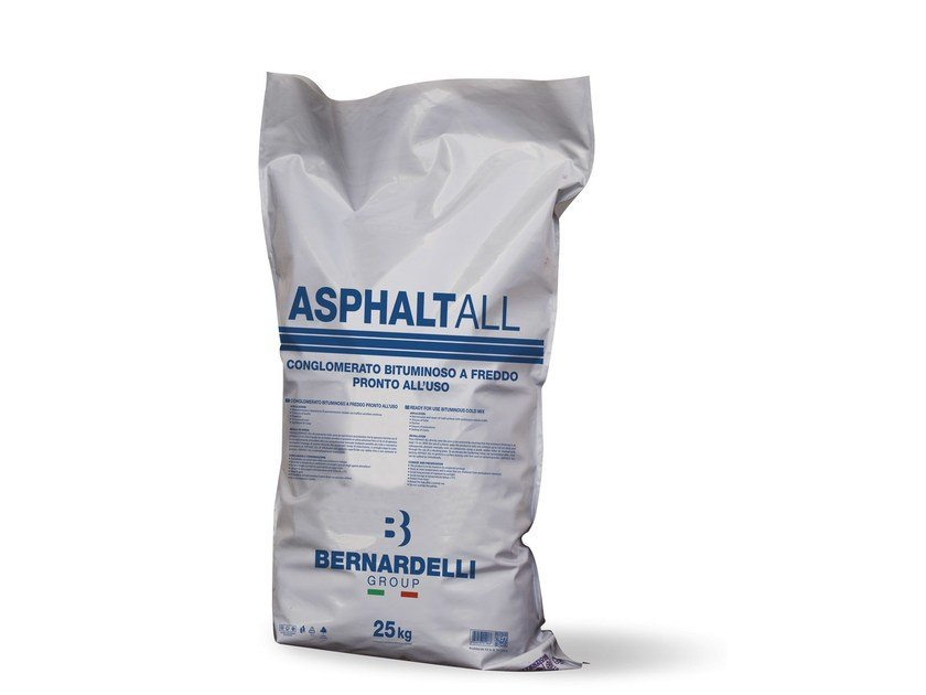 Bituminous conglomerate for asphalt ASPHALTALL by Bernardelli Group