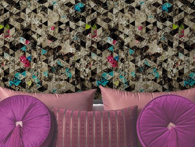 Motif vinyl wallpaper ETHEREAL by GLAMORA