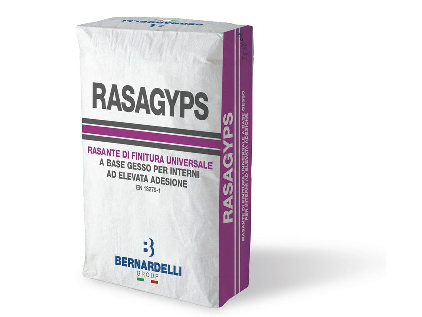 Rasante a base gesso RASAGYPS by Bernardelli Group