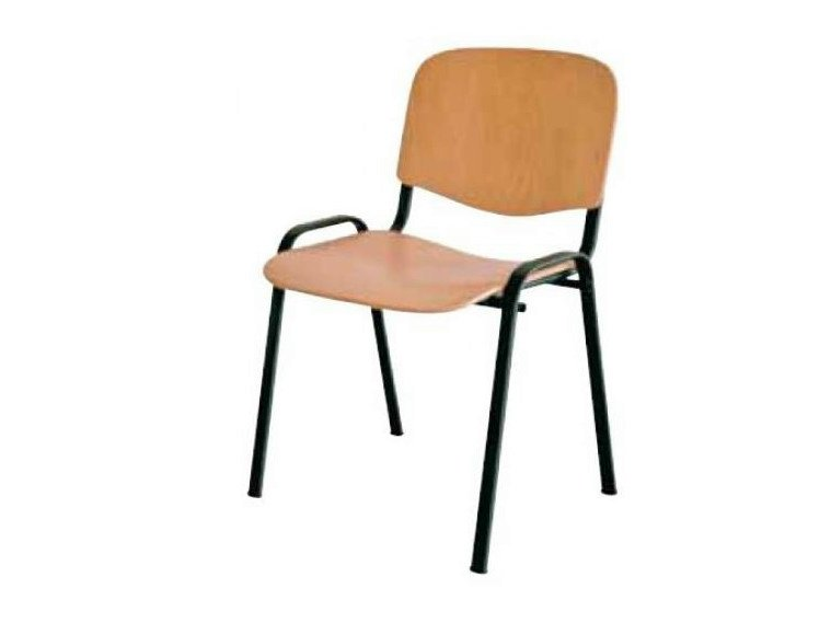 Stackable wooden training chair MIL | Wooden training chair by Castellani.it