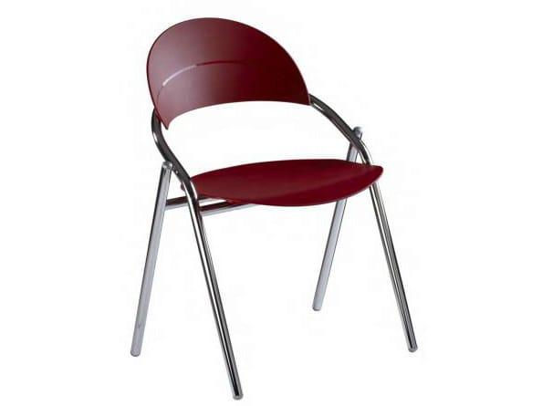 Polypropylene chair LUNA | Chair by Castellani.it