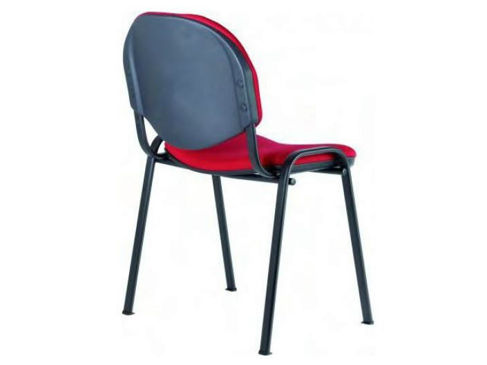 Upholstered stackable fabric chair SED TESS | Chair by Castellani.it