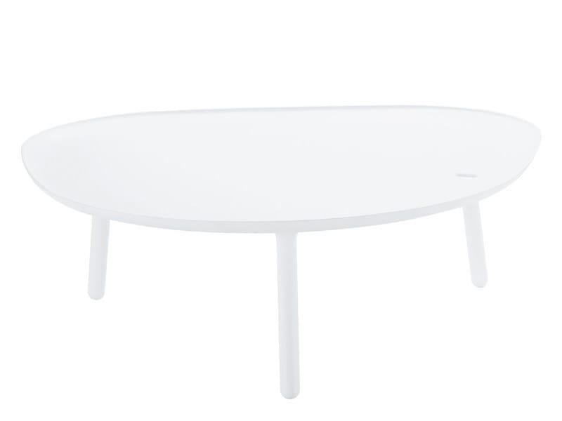 Cristalplant® garden side table NINFEA by Zanotta