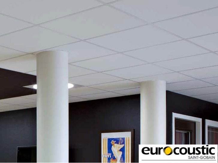 Acoustic rock wool ceiling tiles ORCHESTRA® by Saint-Gobain Gyproc