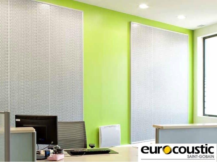Rock wool decorative acoustical panel ACOUSTIROC® by Saint-Gobain Gyproc