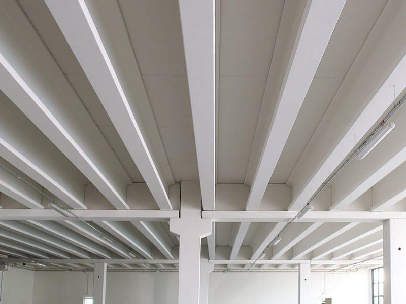 Precast reinforced concrete roof Flat floorings by ZANON PREFABBRICATI