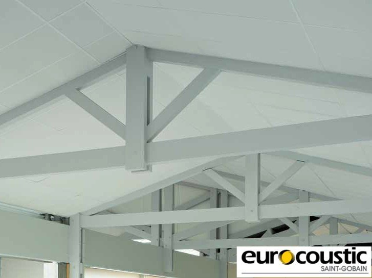 Acoustic rock wool ceiling tiles EOLE® by Saint-Gobain Gyproc