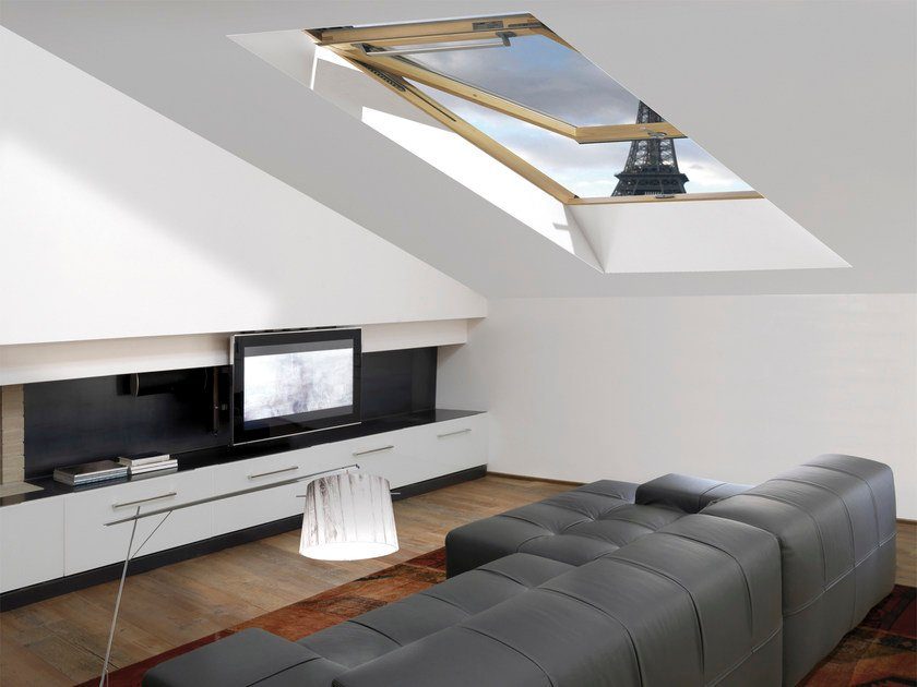 Laminated wood roof window STYLE DAB by CLAUS