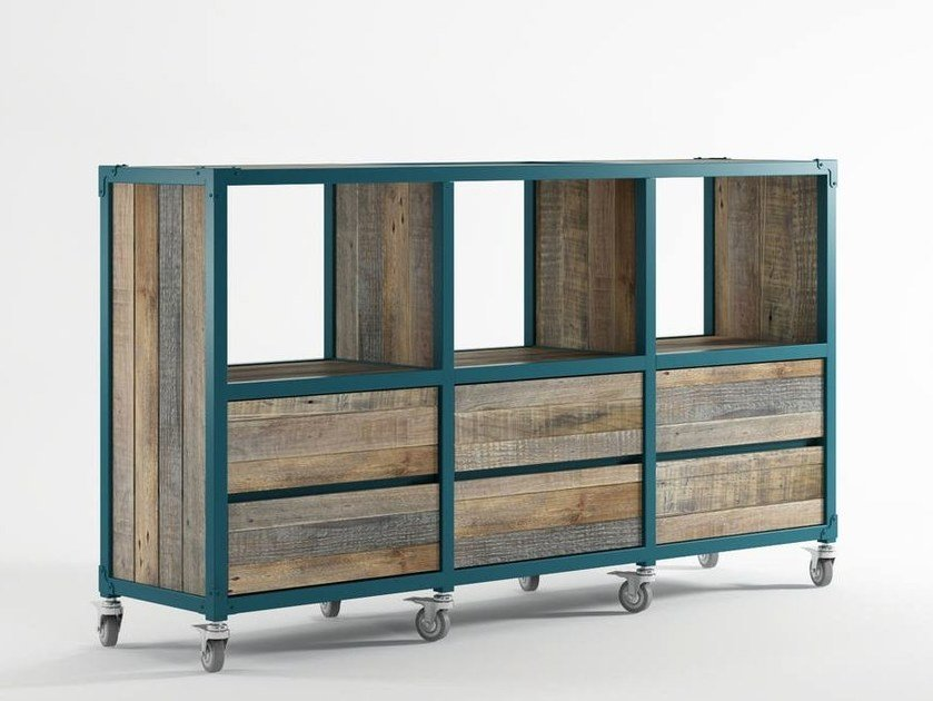 Wooden sideboard with drawers AK- 14 | Sideboard with drawers by KARPENTER
