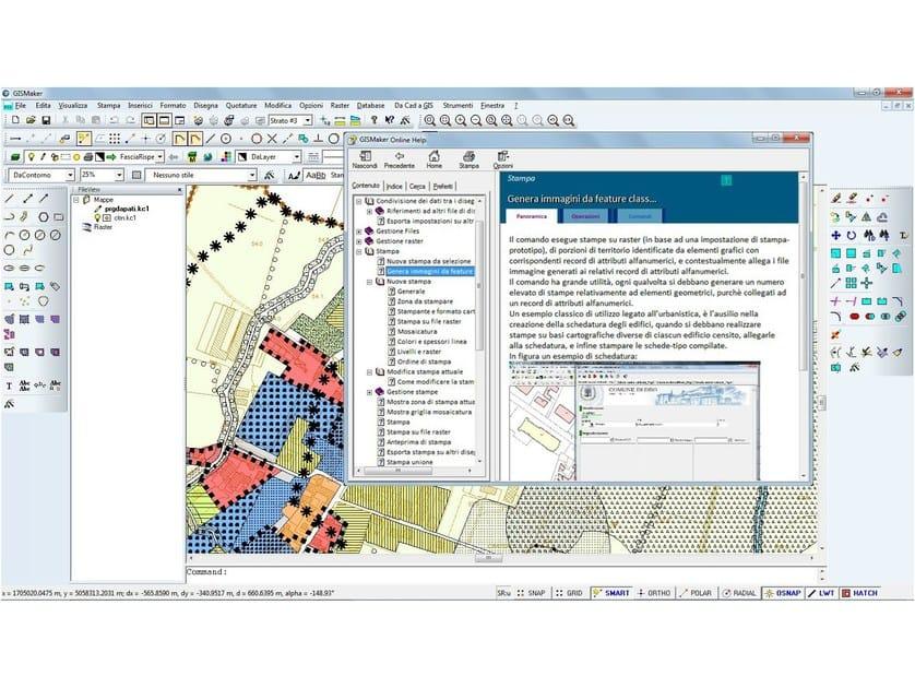 CAD GIS GISMaker by ProgeSOFT Italia
