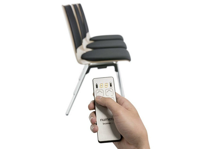 Chair with electronic seat numbering NUMERA by Brunner