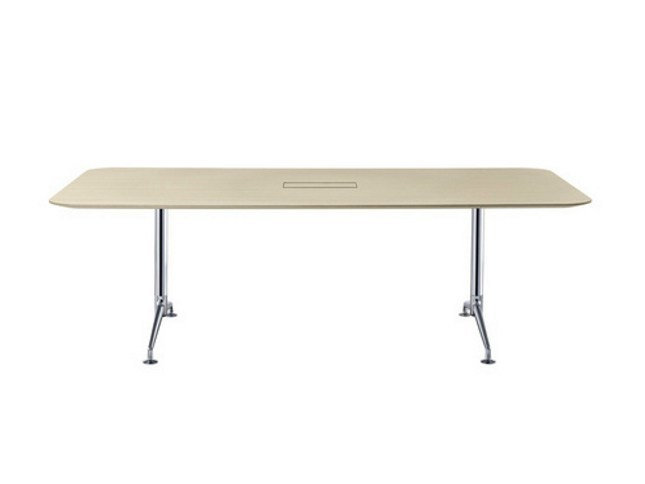 Modular Folding Meeting Table FINA FLEX CONFERENCE By Brunner Design - Detachable conference table