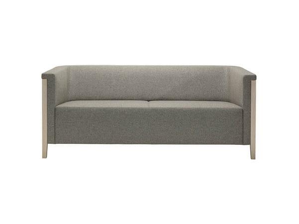 2 seater fabric sofa COLLAR | Fabric sofa by Brunner