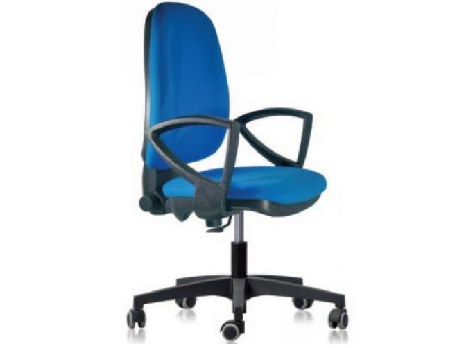 Ergonomia Scrivania Ufficio : Sedia ufficio operativa ergonomica con ruote op castellani