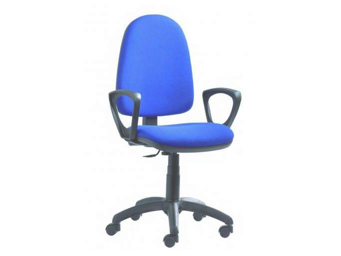 Sedia ufficio operativa ergonomica con ruote sofia by castellani.it