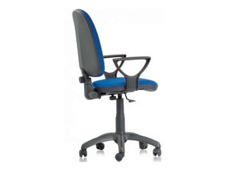Sedia ufficio operativa ergonomica a 5 razze torino by castellani.it