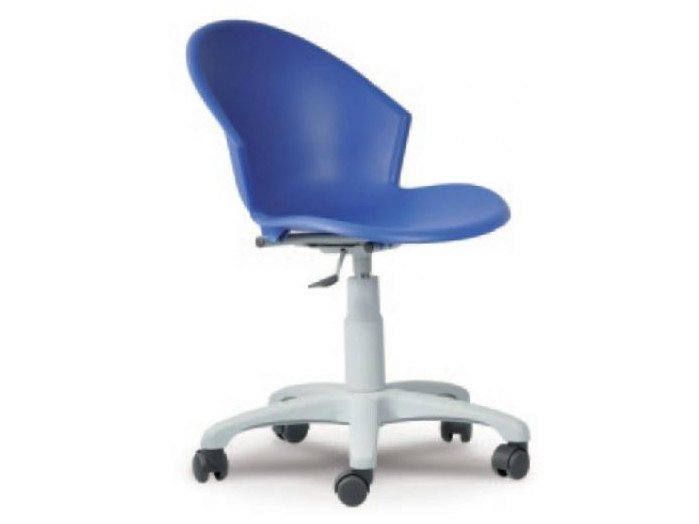 Ergonomic task chair with casters SMILE by Castellani.it