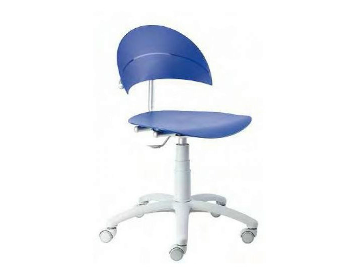 Ergonomic task chair with casters LUNA by Castellani.it