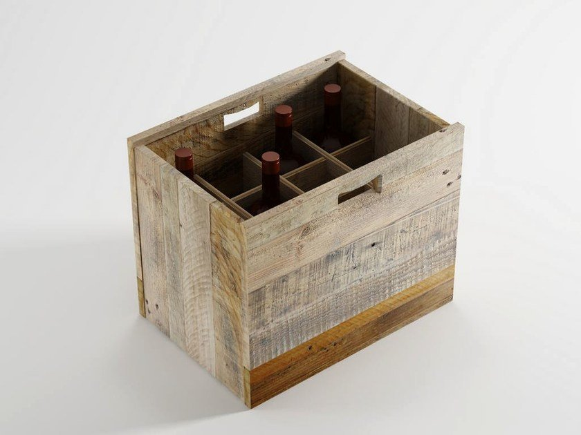 Wooden bottle rack AK- 14   Wooden bottle rack by KARPENTER