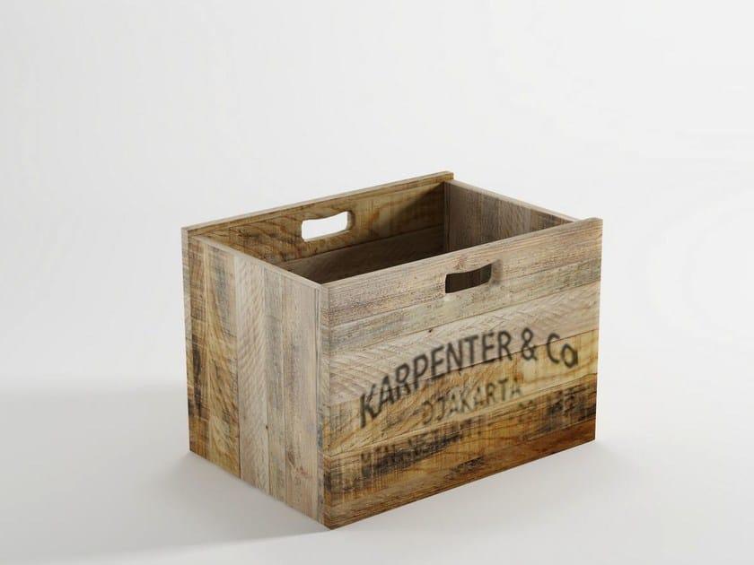 Wooden storage box AK- 14   Storage box by KARPENTER