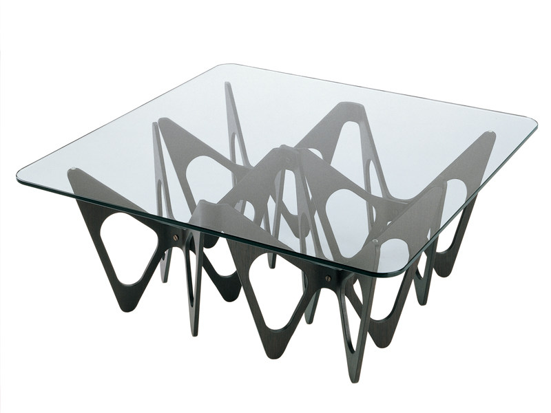 Crystal coffee table BUTTERFLY by Zanotta