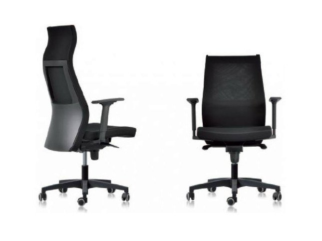 Height-adjustable executive chair with casters ITALIANS-LE SAC by Castellani.it