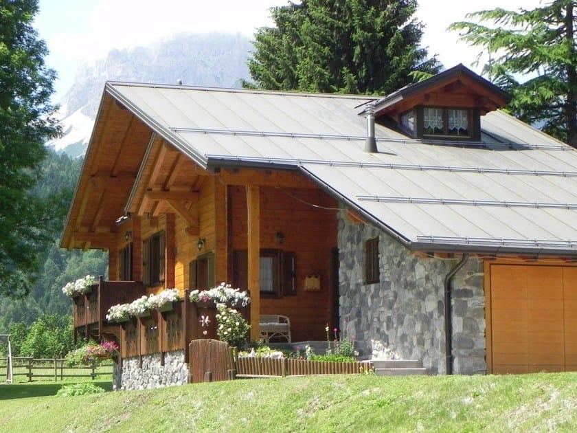Wooden house LC by Legnolandia