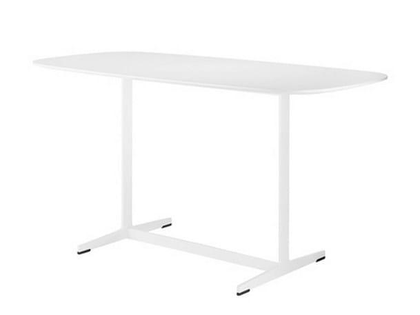 Rectangular high table BANC | Rectangular table by Brunner