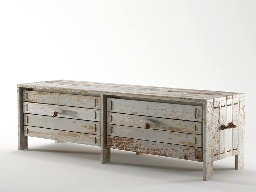 ROPE ME | Sitzbank mit Aufbewahrung By KARPENTER Design Hugues Revuelta