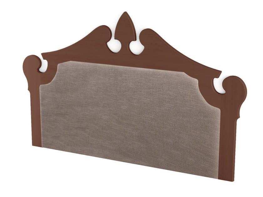 Upholstered wooden headboard ROYAL | Upholstered headboard by Scandola Mobili