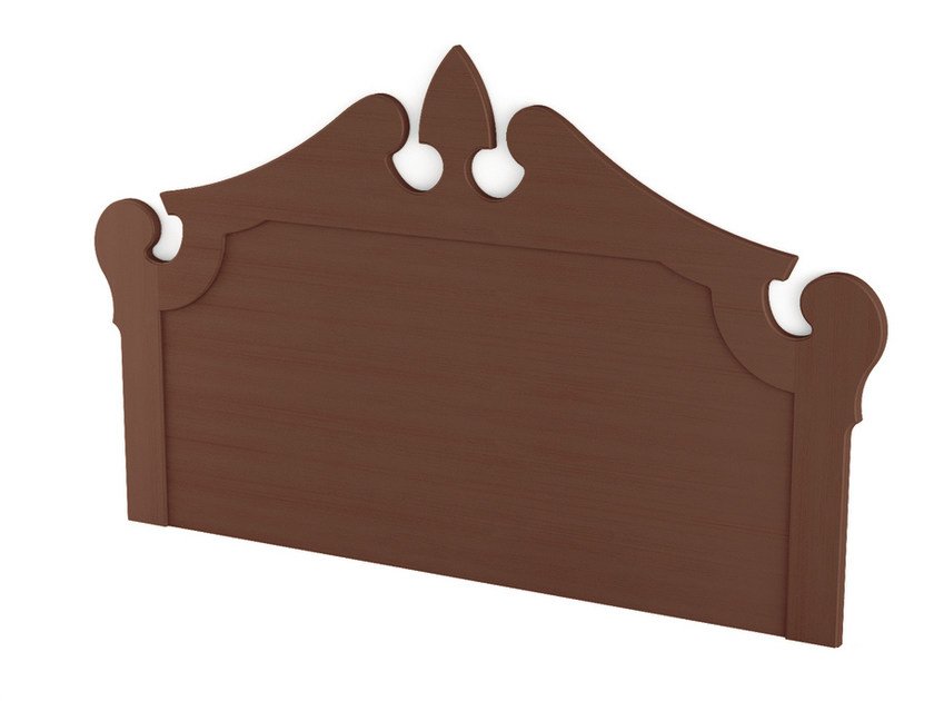 Wooden headboard ROYAL   Headboard by Scandola Mobili