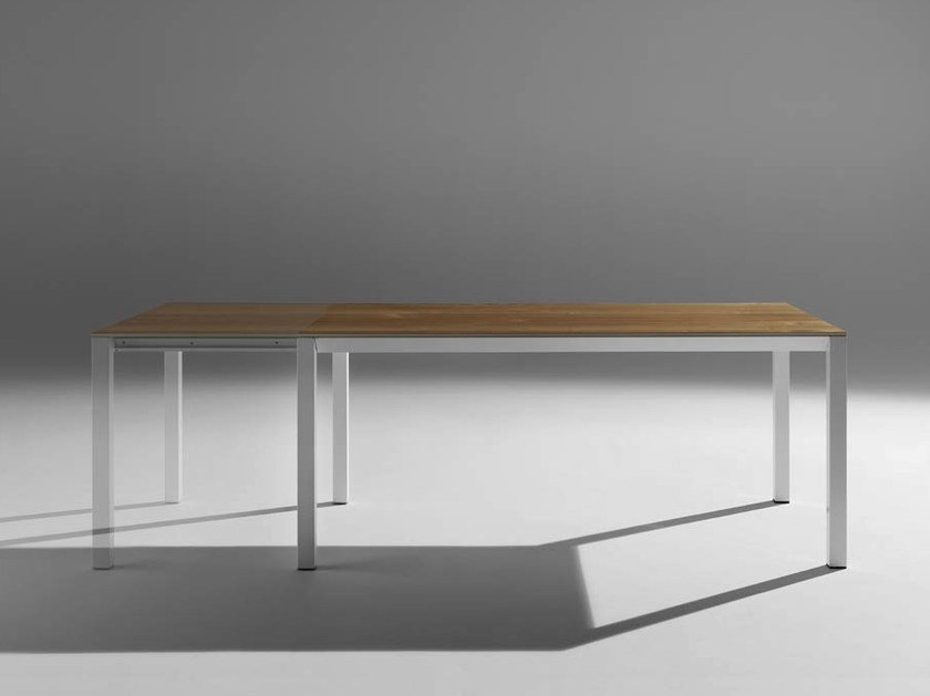 Extending rectangular table LUX | Extending table by horm