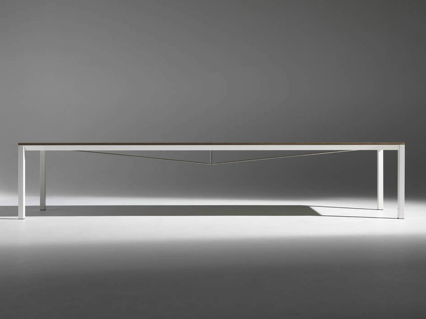 Rectangular table LUX 300 & 360 by Casamania & Horm