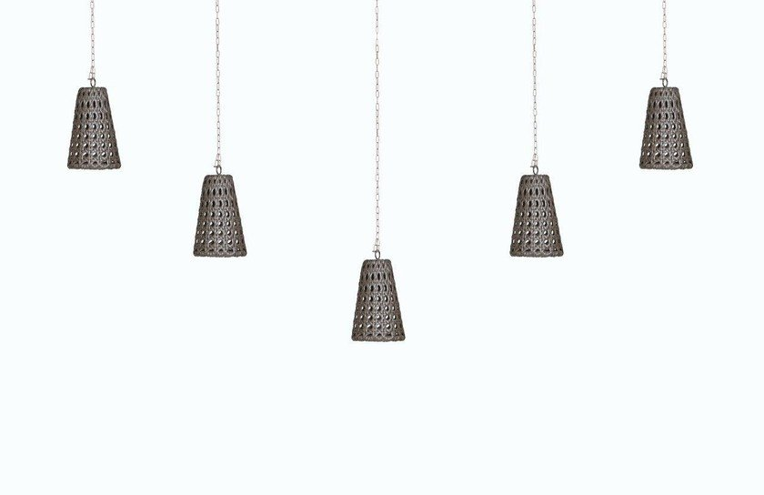 Handmade resin pendant lamp WEZEN | Pendant lamp by Samuele Mazza by DFN