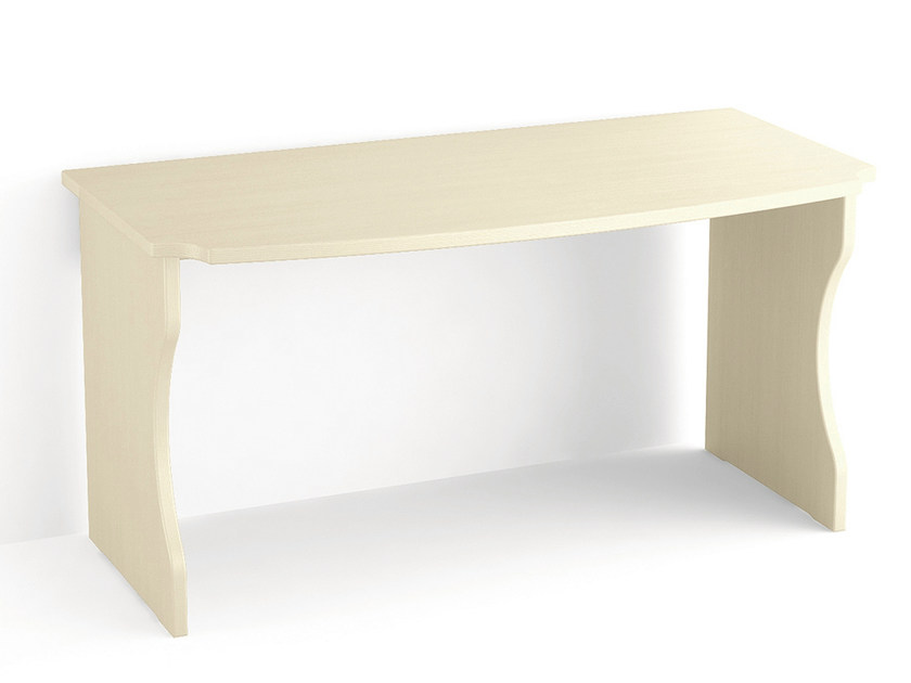 Rectangular wooden writing desk Writing desk by Scandola Mobili