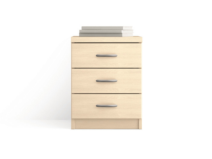 Wooden office drawer unit with casters Office drawer unit by Scandola Mobili