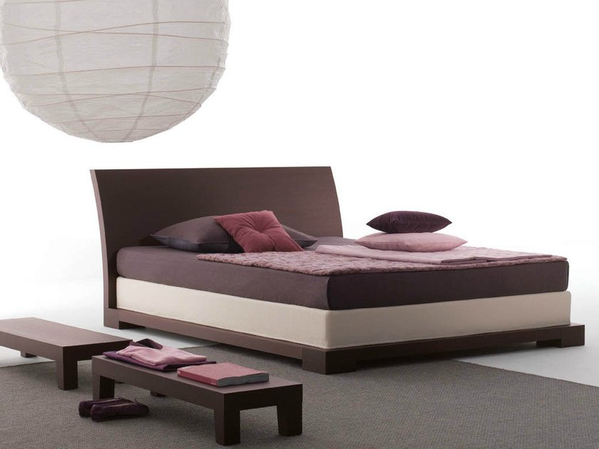 Wooden double bed ANDAMAN | Wooden bed by horm