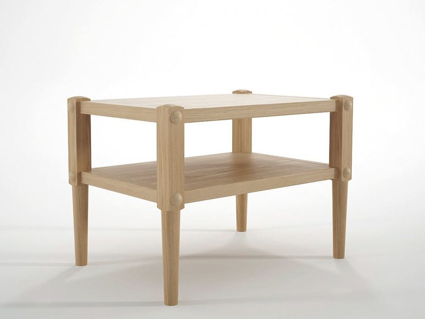 Solid wood coffee table / bedside table KATCHWORK | Coffee table by KARPENTER