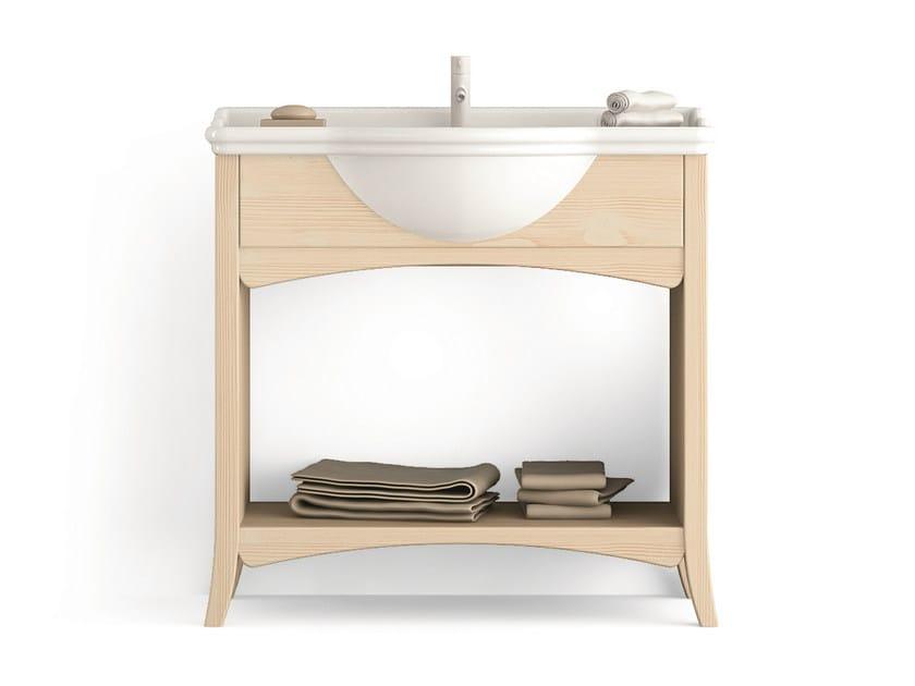Wooden vanity unit Vanity unit by Scandola Mobili