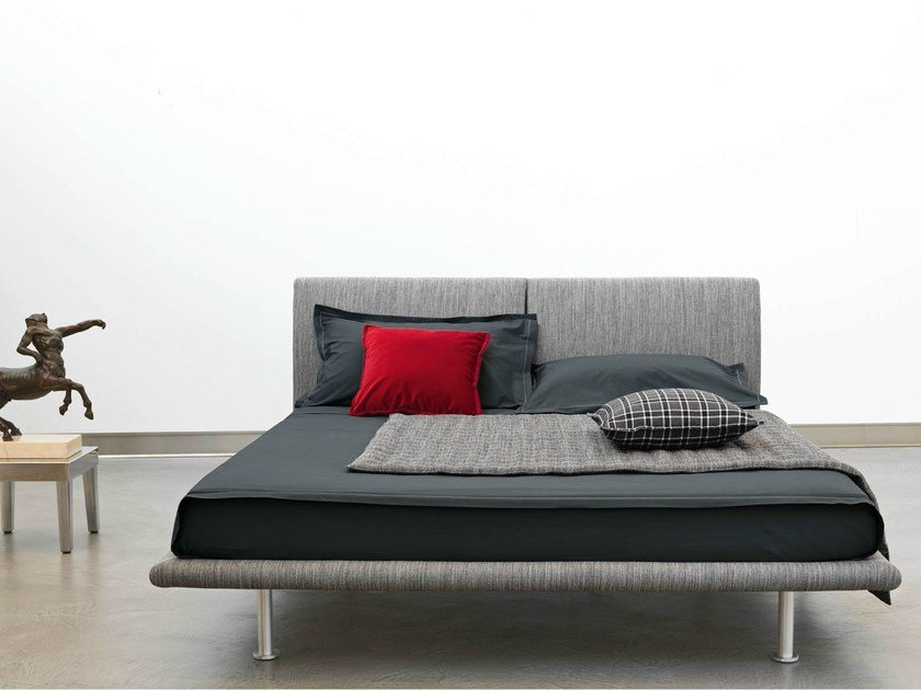 Fabric double bed CAPRERA | Fabric bed by horm