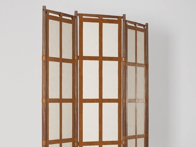 Wooden screen NOMAD   Wooden screen by KARPENTER
