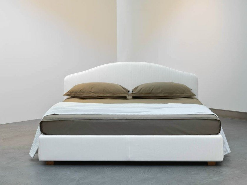 Fabric double bed ELBA by horm