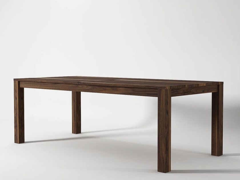 Rectangular wooden dining table SOLID | Table by KARPENTER