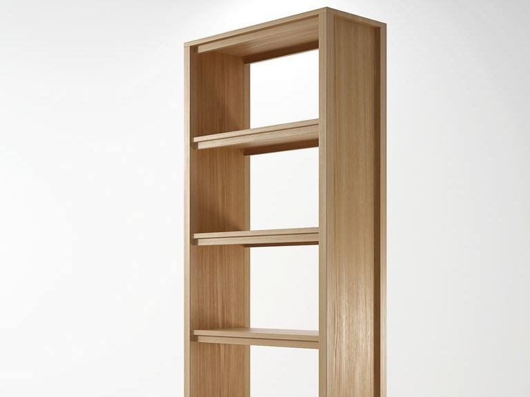 Freestanding wooden bookcase SOLID | Bookcase by KARPENTER
