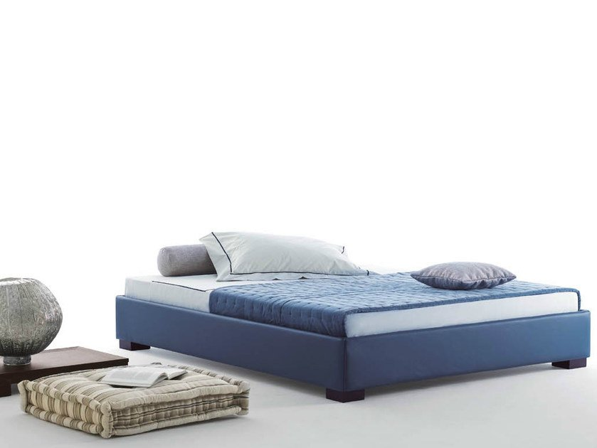 Double bed with removable cover SOMMIER STANDARD | Double bed by horm