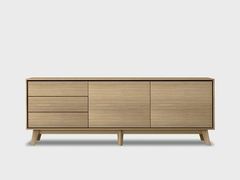 Buffet en bois massif AURA S3-3 by TREKU