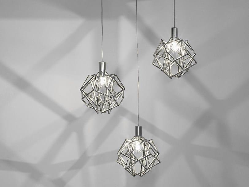 Halogen metal pendant lamp ETOILE | Pendant lamp by TERZANI